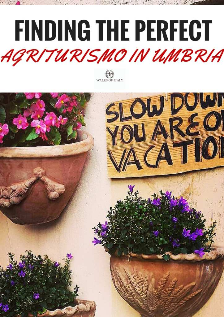 An agriturismo in Umbria is one of the best accommodation options in Umbria and around Italy. Found out how to find the best agriturismo for you on your next trip to Italy!