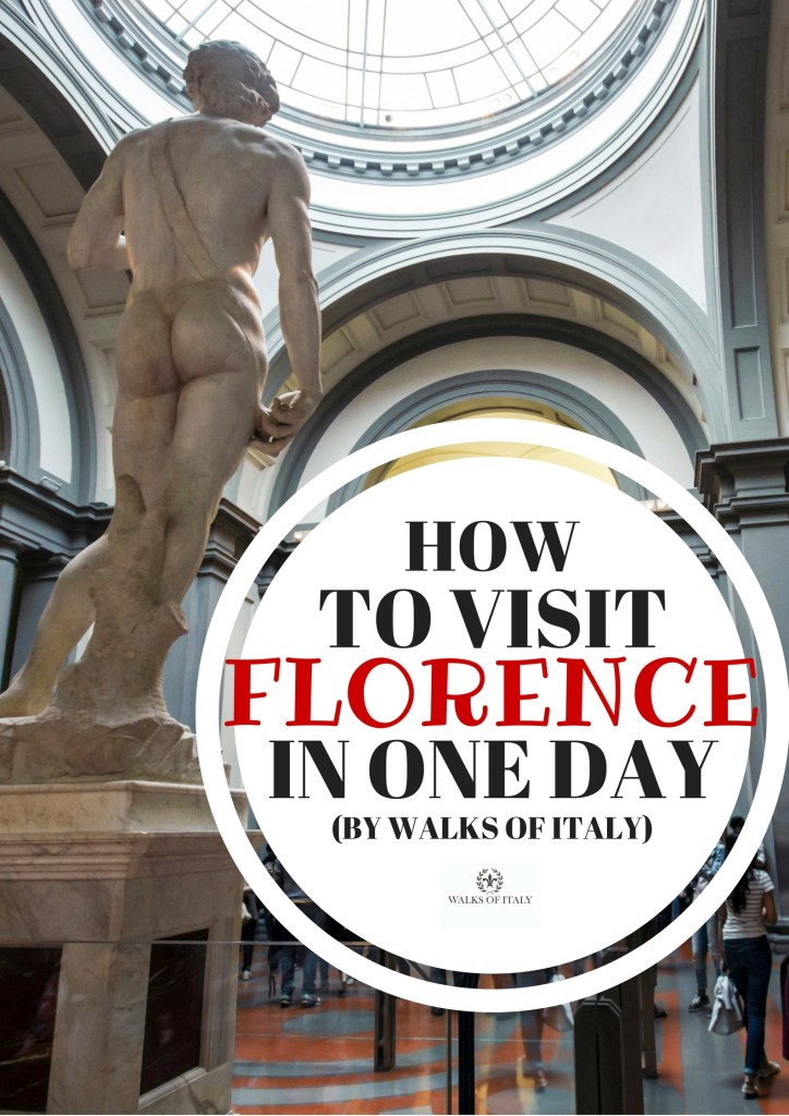 Michelangelo's David is one of the sites you can see in Florence if you only have one day to visit. Find out what else you should see and do in the Walks of Italy guide to one day in Florence.