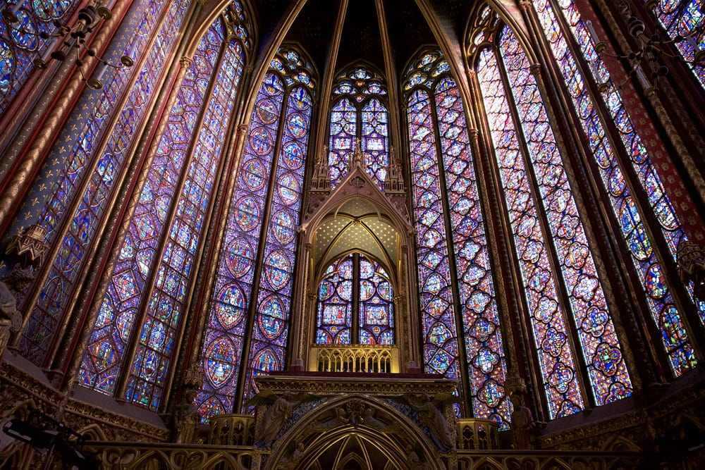 The stunning Sainte Chapelle is part of the Walks Conciergerie tour