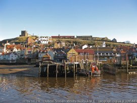 Lifeboat Station, Whitby View across the River Esk.