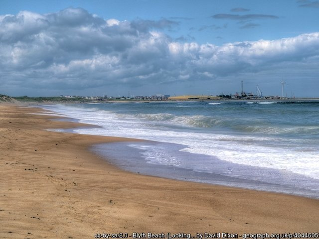 Blyth Beach (Looking Towards Blyth)