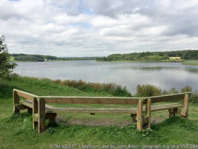 Ladyburn Lake The centrepiece of Druridge Bay Country Park.