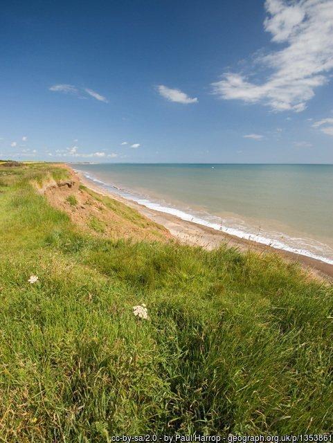 Walk the England Coast Path - Easington to Filey