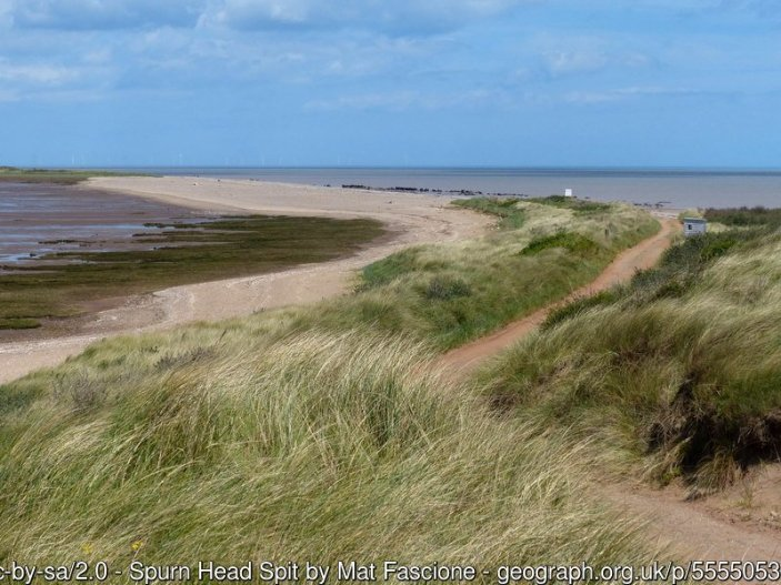 Walk the England Coast Path - Humber Bridge to Easington