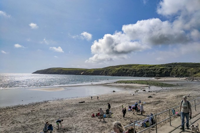 Walk the Wales Coast Path from Aberdaron to Abersoch
