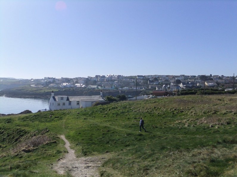 Walk the Wales Coast Path Amlwch Port to Cemaes