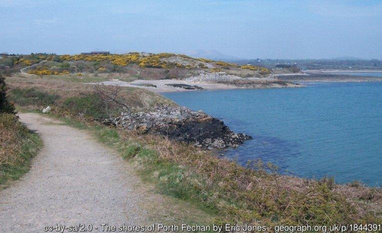 The shores of Porth Fechan