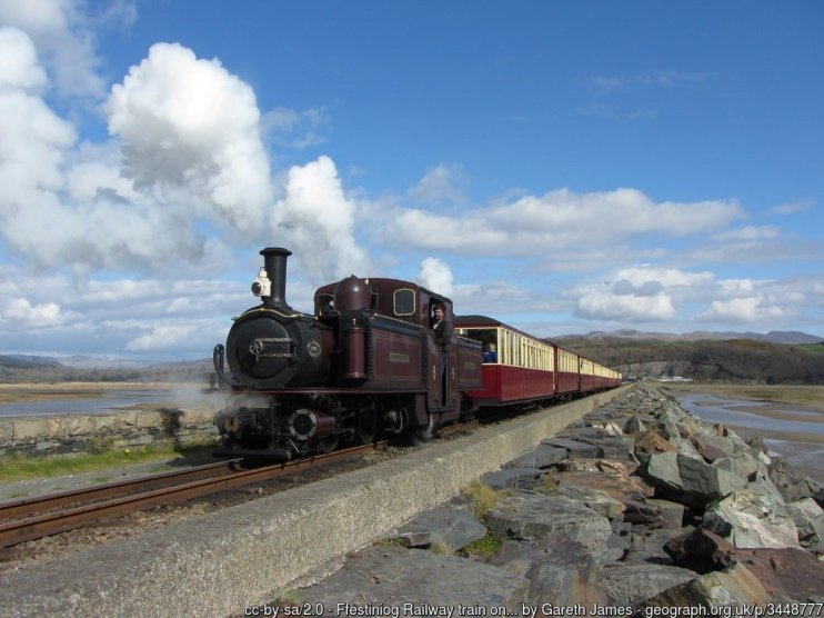 Walk the Wales Coast Path from Porthmadog to Harlech