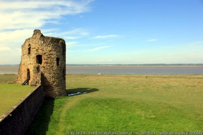 The East Wall and Tower of Flint Castle