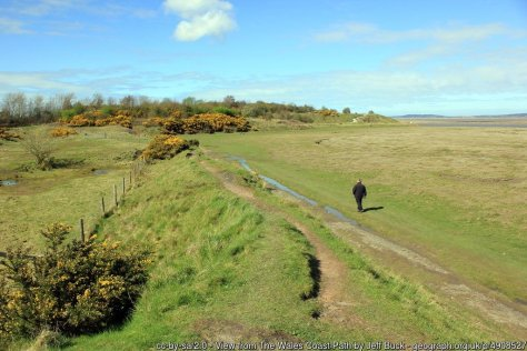 Walk the Wales Coast Path North Wales - Fflint to Prestatyn