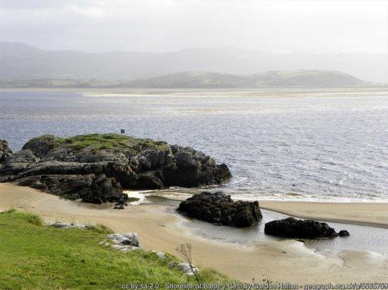 Shoreline at Borth-y-Gest