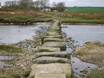 A pleasant diversion at low tide