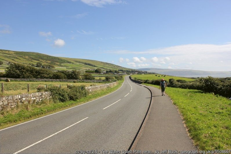 Walk the Wales Coast Path from Harlech to Barmouth
