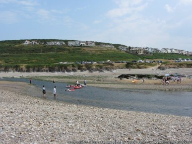 A busy Ogmore River