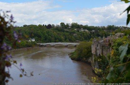 River Wye and Old Wye Bridge, Chepstow