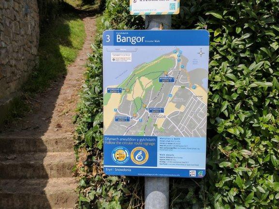 Walk the Wales Coast Path From Llanfairfechan to Menai Bridge