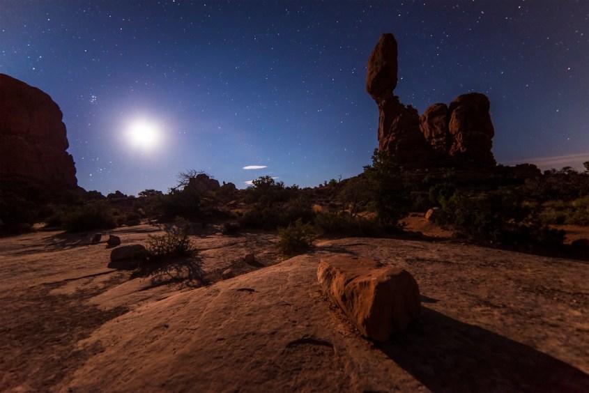 desert and stars Abraham