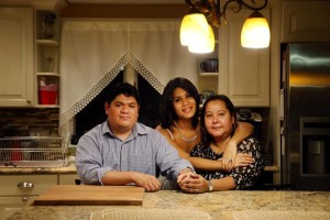 Per Boston Globe: Maria Sanchez-Lopez (right), with husband Lyle Lopez and daughter Felicia Torres, sought an affordable home for years.