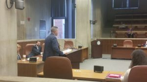 WalkUP Rozzie Founder Matt Lawlor Testifying on Parking Before Boston City Council