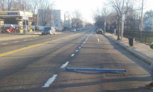 Washington Street Northbound near Firth Street (March 2016)