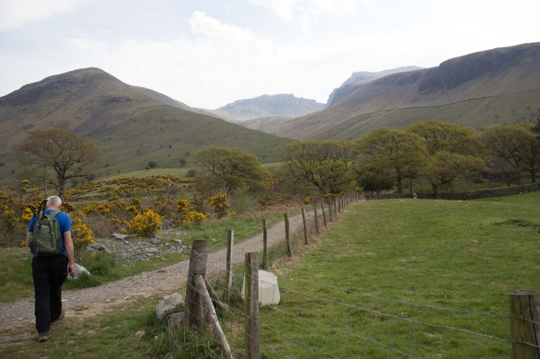 Scafell Pike from Wasdale Head