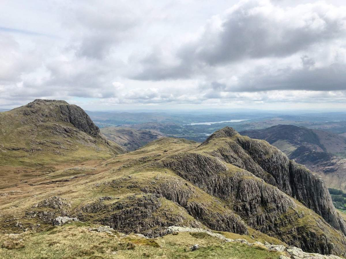 Classic Lake District Walks - The Langdale Pikes