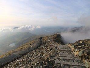 Walk up Snowdon via the Llanberis Path