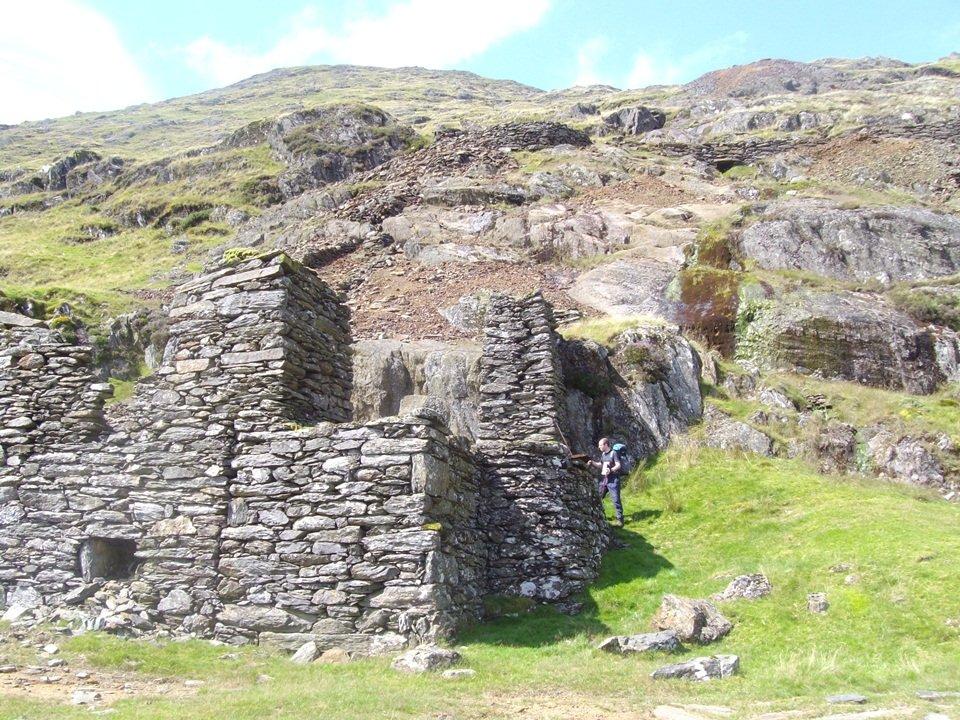 Walk up Y Lliwedd from Nant Gwynant