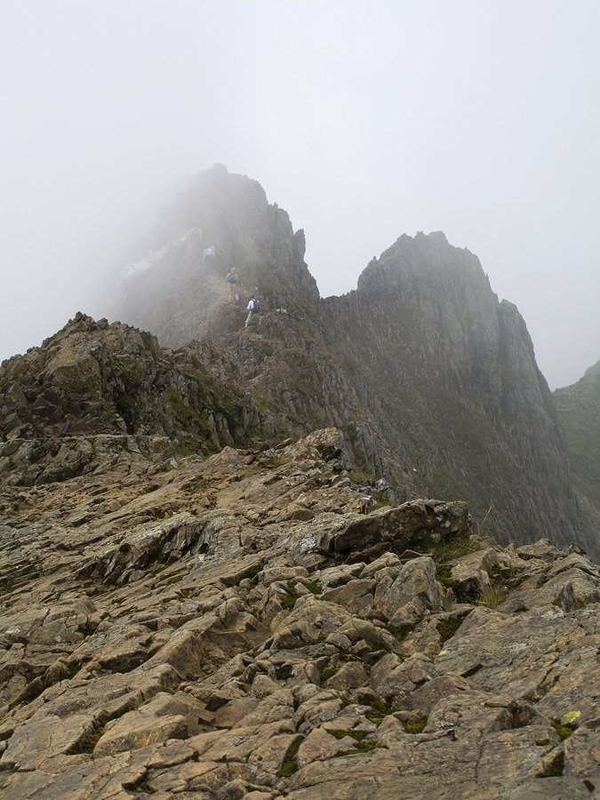 Crib Goch Scramble up Snowdon from Pen y Pass