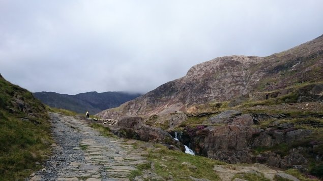 Walk up Snowdon via the Watkin Path