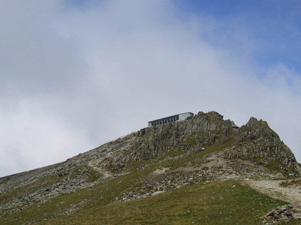 Watkin Path up Snowdon