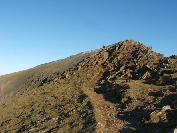 Walk up Snowdon South Ridge from Rhyd Ddu