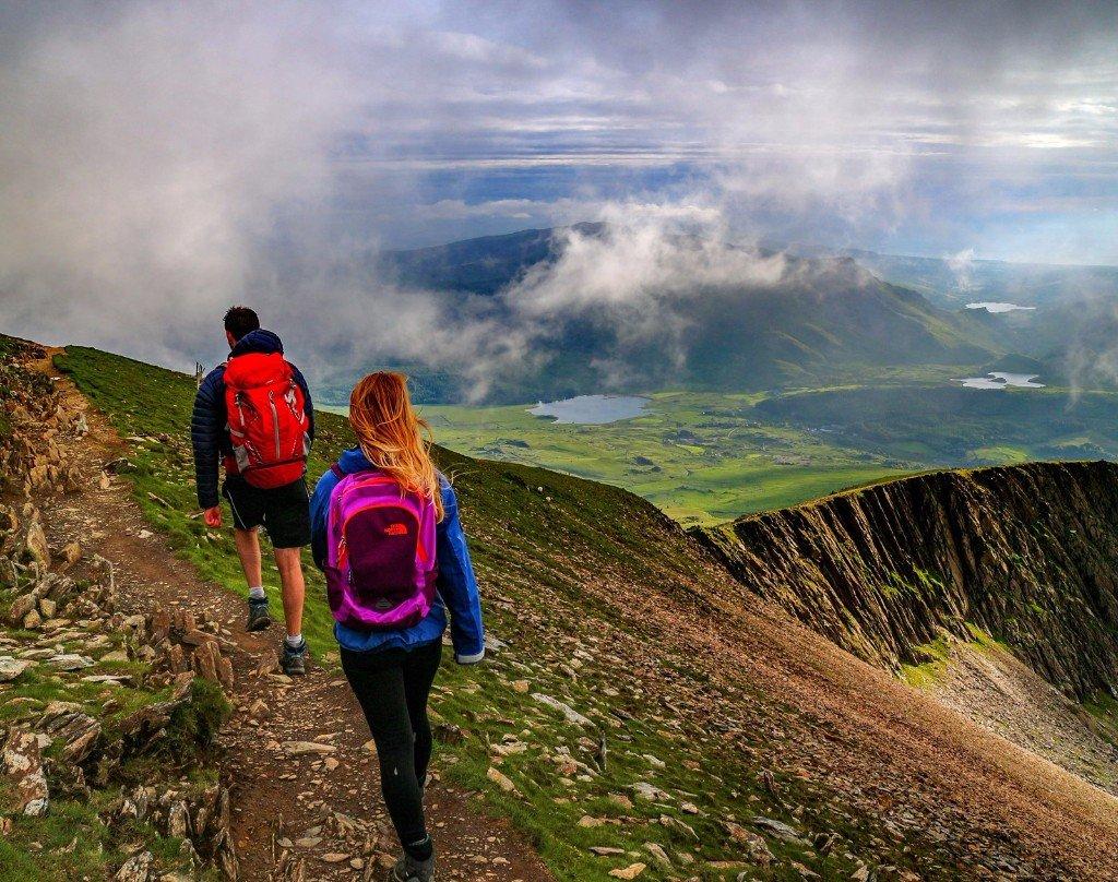 Walk up Snowdon Yr Wyddfa