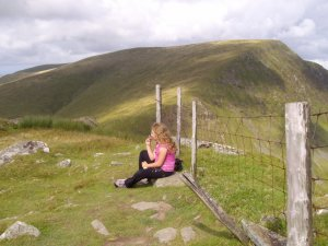 Snowdon Ranger Path Walking Route