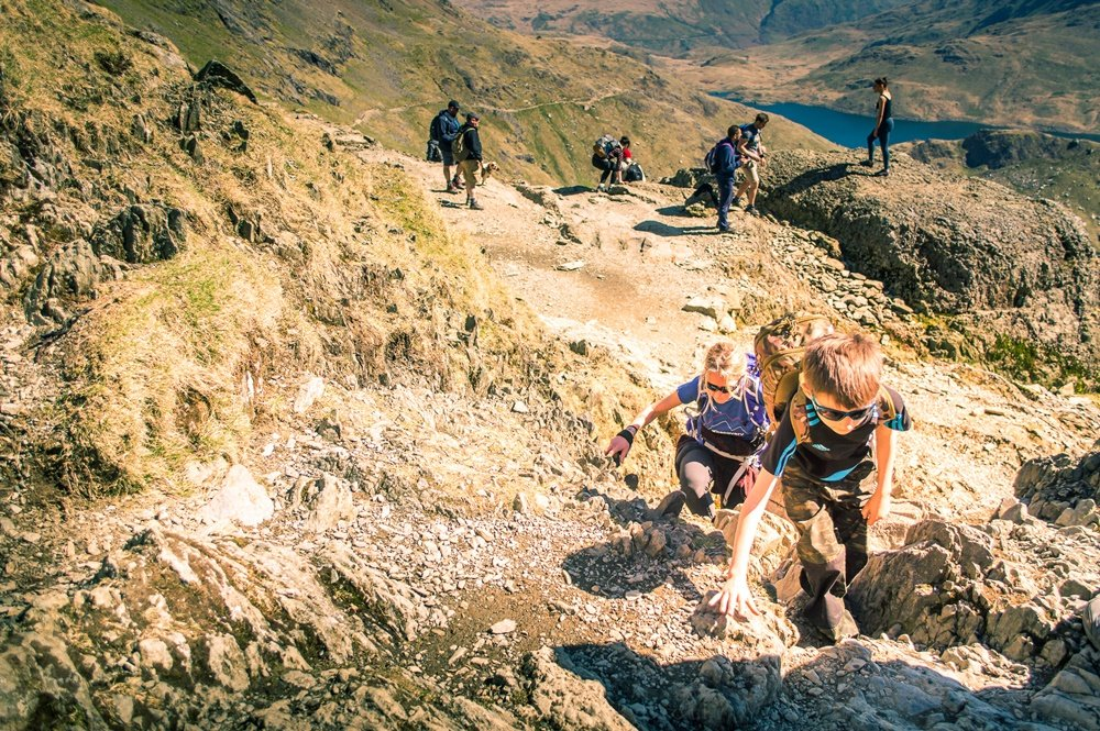 How Long To Climb Snowdon >> Get Out with the Kids and Walk up Snowdon - Walk up Snowdon