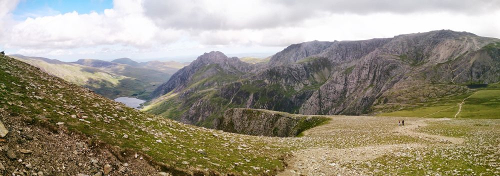 The Highest Mountains in Snowdonia Y Garn