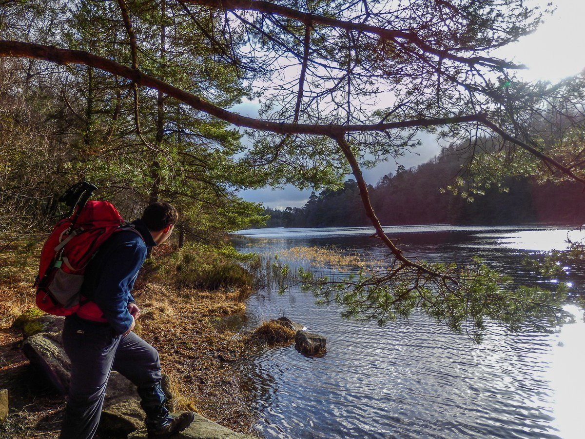 Easy Family Walks in Snowdonia - Llyn Parc from Betws y Coed