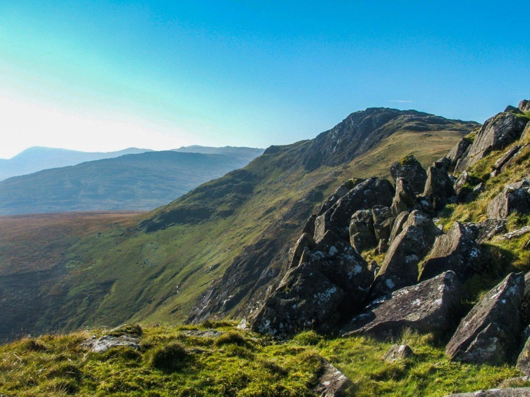 The Highest Mountains in Snowdonia Moel Siabod