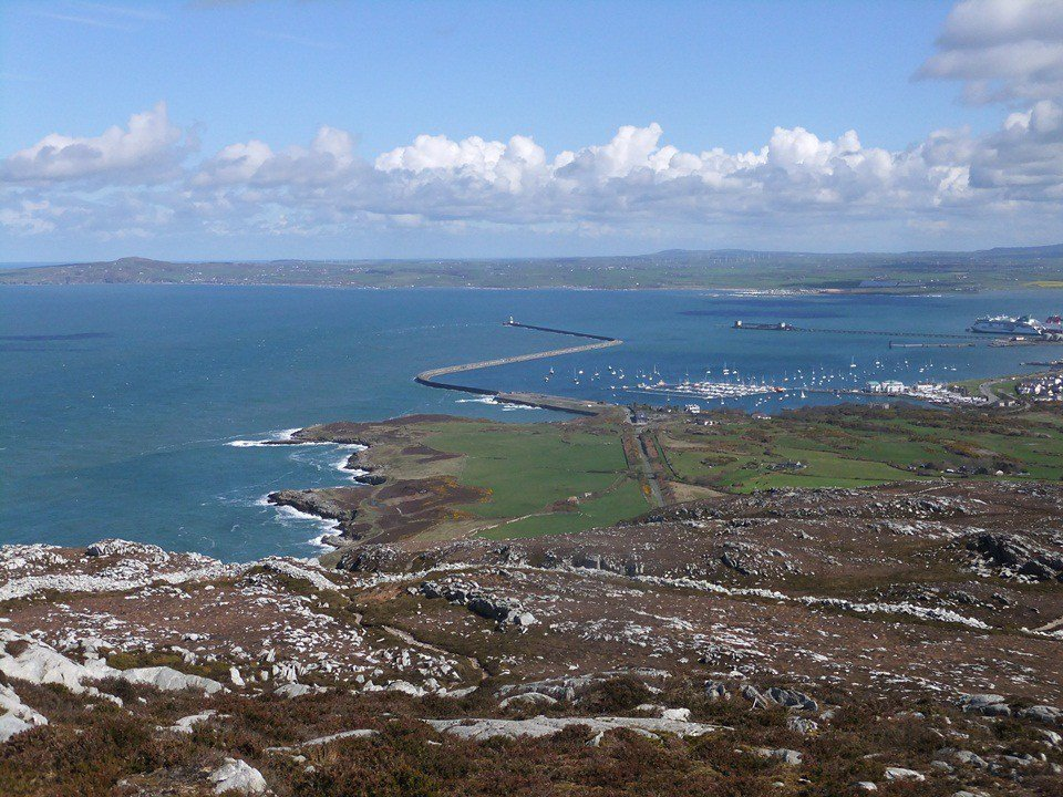 Easier Hill Walks in Snowdonia and North Wales - Mynydd Twr - Holyhead Mountain
