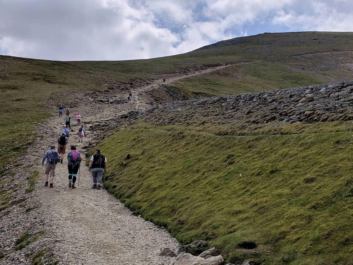 Llanberis Path Route up Snowdon