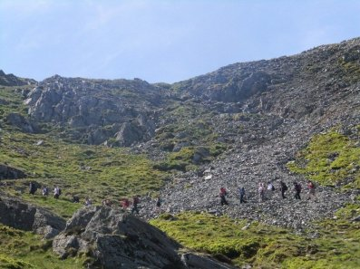 Classic Walks in Snowdonia - Glyder Fawr from Llyn Idwal and Ogwen
