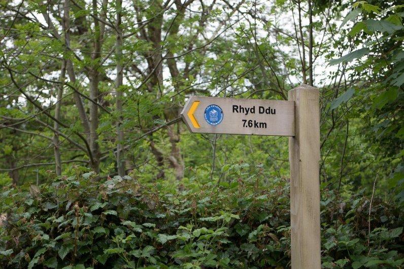 Snowdon Circular Route Section 2 The Lon Gwyrfai Low Level Snowdonia Walk