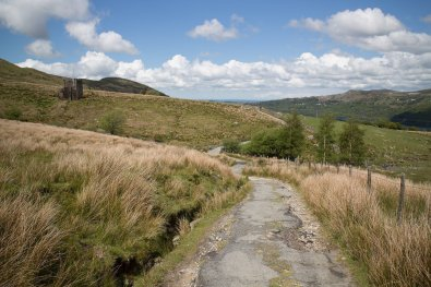 Clogwyn y Gwin Path and Maesgwm (128 of 135)