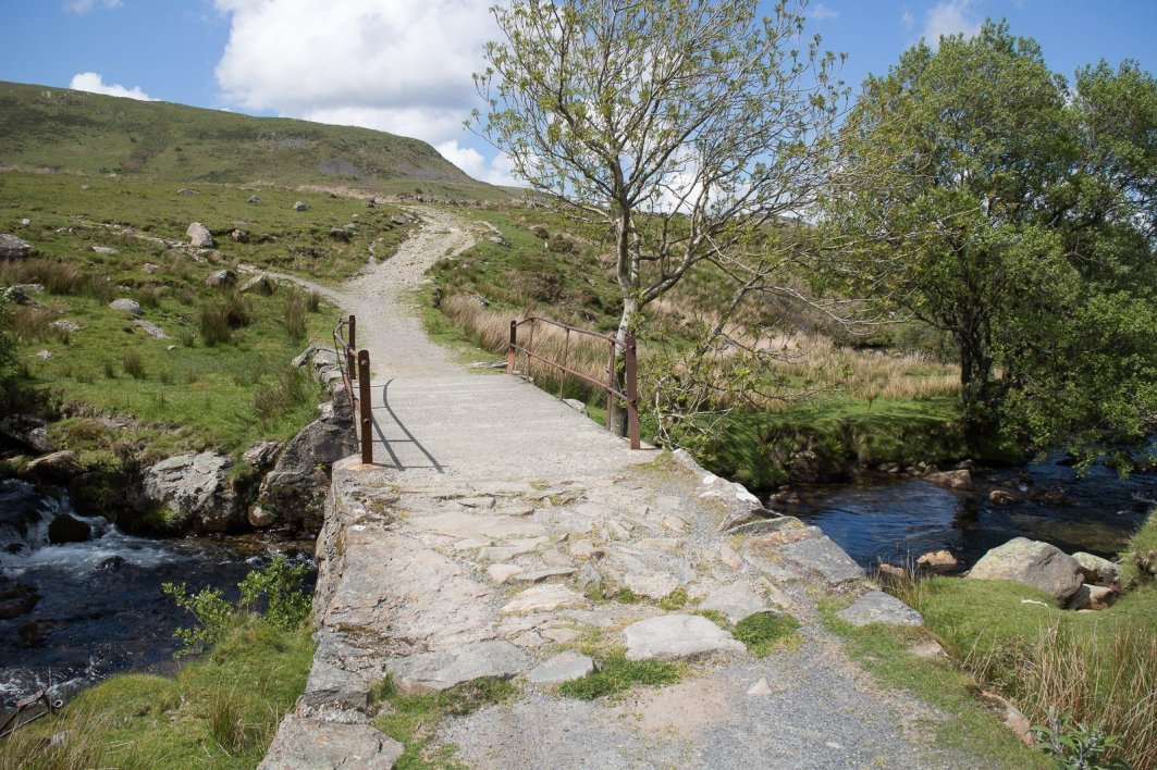 Clogwyn y Gwin Path and Maesgwm (130 of 135)