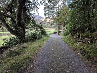 Snowdon Circular Route Section 3 - Lon Gwynant from Beddgelert to Nant Gwynant