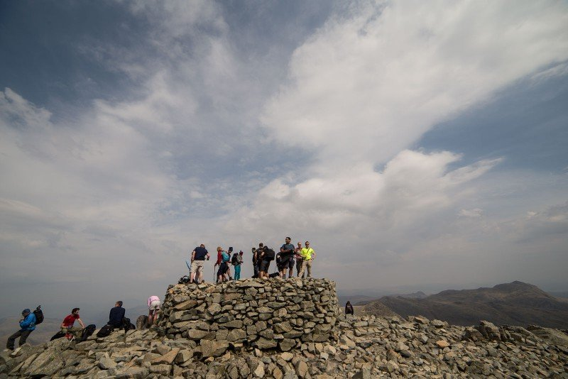 National 3 Peaks Route up Scafell Pike