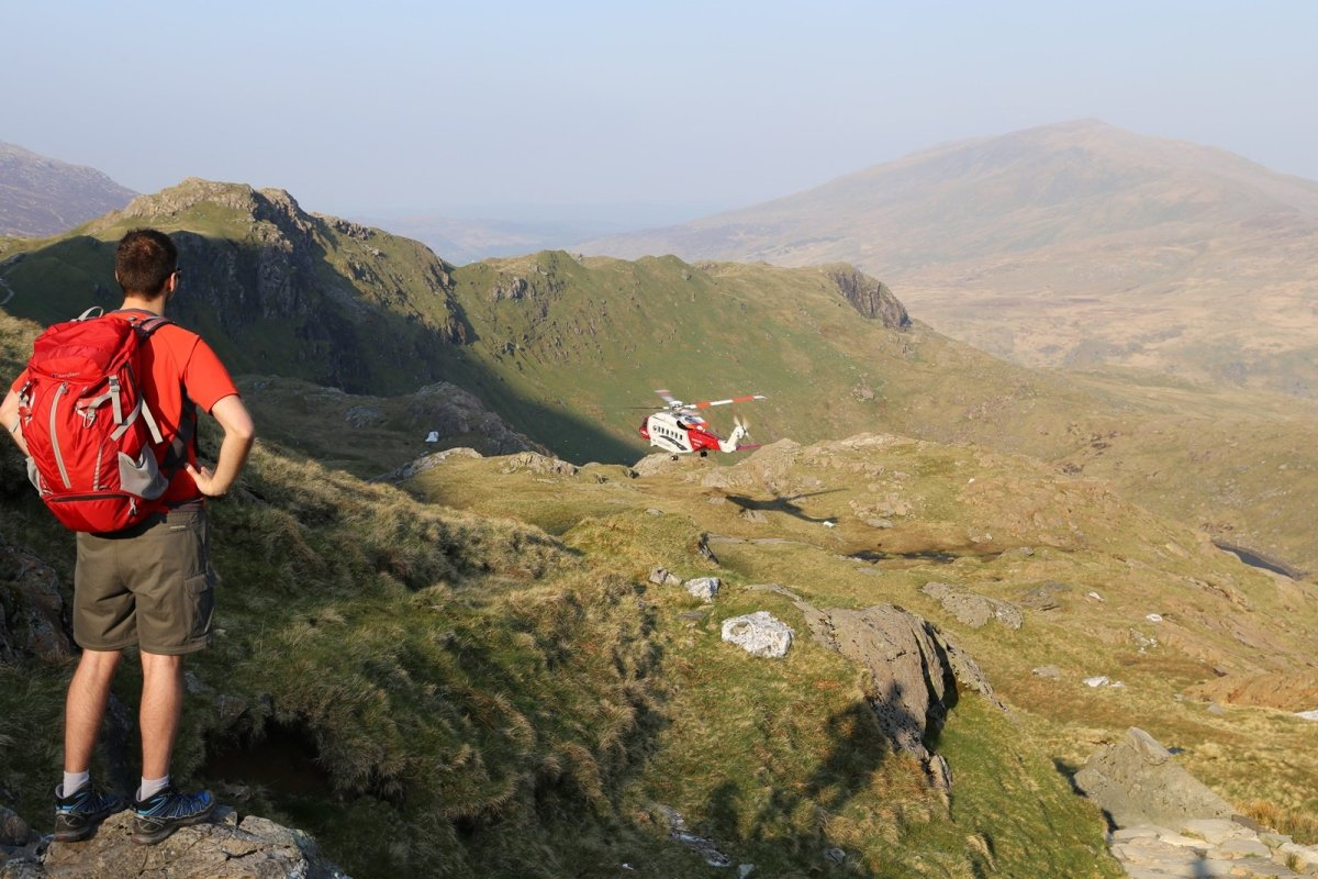 PYG Track 3 peaks route up Snowdon