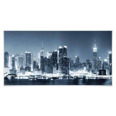 hochwertige poster mit new york motiven