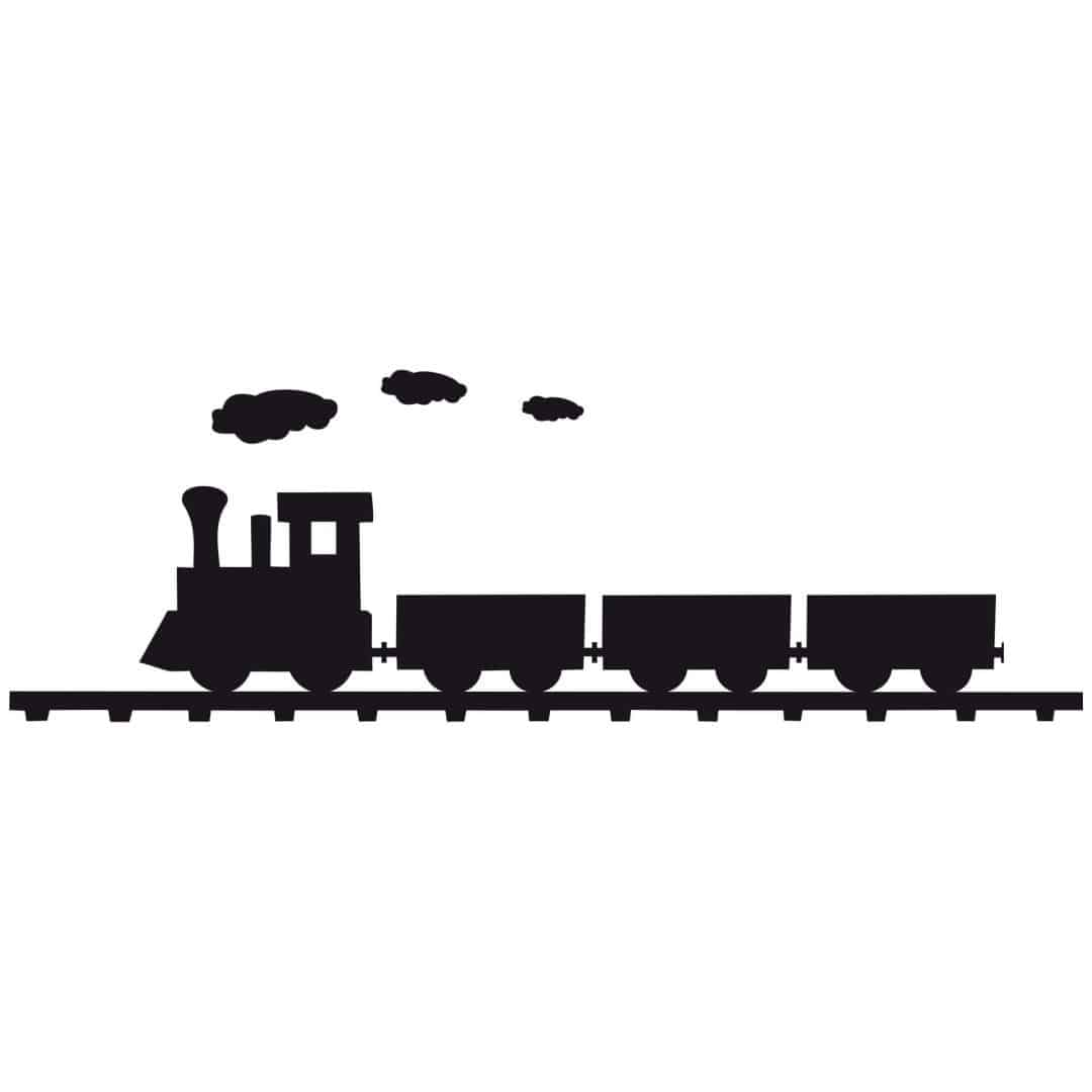 Steam Engine Wall Sticker
