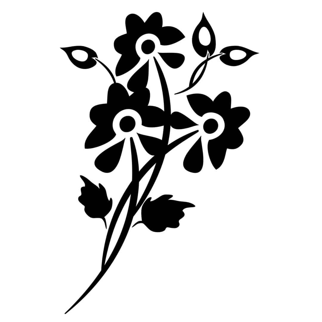 Flora Grandiosa Wall Sticker